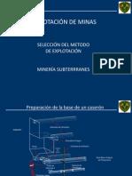 8.- ME_Métodos de Exp. Subterranea (2)