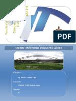 Modelo Matemático Del Puente Carrión