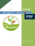 Programma Elettorale 2014 - Comune Fiscaglia