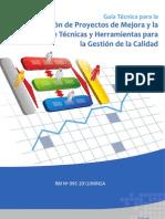 Manual de Proyectos Mejora Continua de la Calidad
