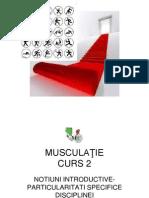 Musculatie Curs 2