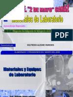 Laboratorio 2 de Mayo Quimica Materiales de Laboratorio