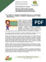 Orientacion Directivo Docente Admi Planta 2013