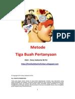 Ebook Ke 2 - Metode 3 Buah Pertanyaan.pdf