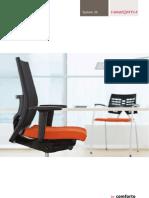 Comforto - systeem 39 bureaustoelen