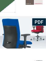 Comforto - systeem 50 bureaustoelen