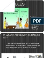 Consumer Durable Industry