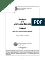 Boletin Jurisprudencia CNCOM 5-08