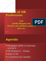 Future of Hr Profession Ppt