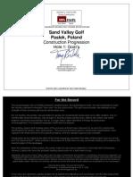 Sand Valley Construction Progression Hole 1. Goat's Agolfarchitect.com Version 1