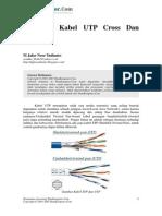 Ilmu Komputer Mengenal Kabel UTP Cross Dan Straight