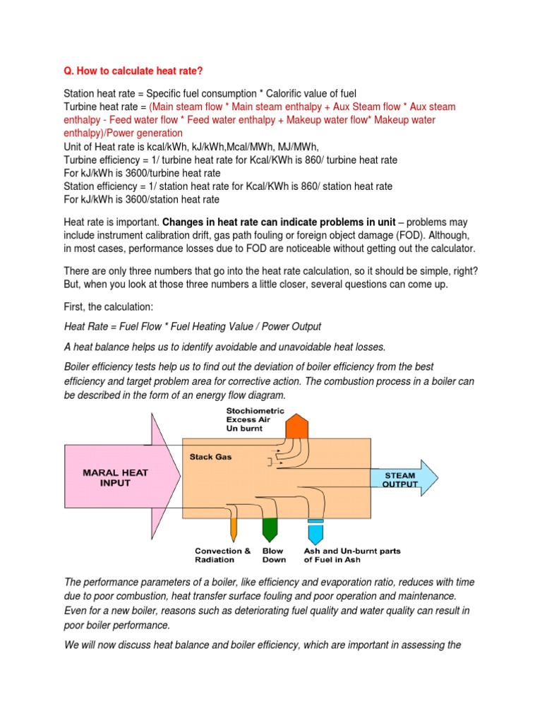 Interview Q And Ans For Tharmal Power Plant Boiler Coal Heat Radiation Diagram A Energyflow The