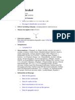 Isopropyl Alcohol (DATOS)