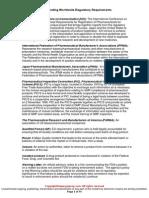 Audit 002 Understanding Worldwide Regulatory Requirements Sample