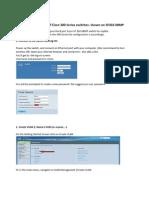 SF300 Manual Configuration Web