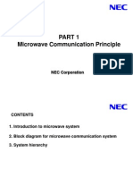 Microwave Communication Principle