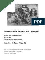 EDEL453 Spring2014 Taylor Fitzgerald Unit-plan Wednesday
