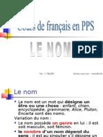 Grammaire français LE NOM