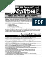FINAL E-Portfolio for ENG 101