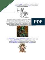 personajes mitológicos