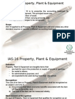 Fixed Assets IAS 16