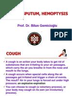 Cough, Sputum Hemoptisis