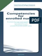 Competencies for Enrolled Nurses April 2012