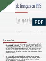 Grammaire français --> Le Verbe