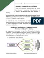 Propuesta de Formulación Modular E-learning