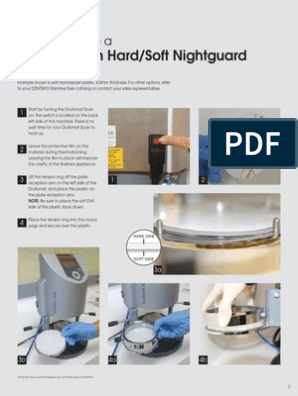 HowTo Nightguard | Poly(Methyl Methacrylate) | Building