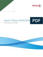 Phaser3010-3040 User Guide RO Lowrez