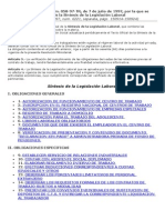 Sintesis de La Legislacion Laboral (1)