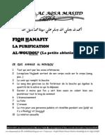 AL-WOUDOU' (La petite ablution 2)