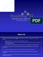 Simplifying IT Overview