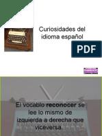 Curiosid Del Español