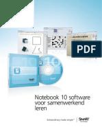 SMART Notebook 10 werking Brochure NL
