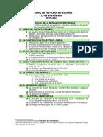 Historia de Espac3b1a Temario Completo Alumns