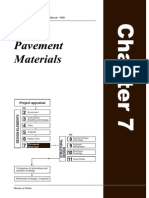 Pavement and Materials Design Manual 1999 - CHAPTER 7
