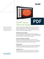 Factsheet SMART Interactive Display frame Corporate ENG