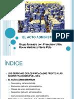 Powerpoint Del Acto Administrativo