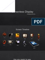 Screenless Display