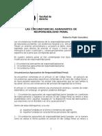 Agravantes Final Derecho Penal Chile