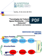 Tecnologías de Tratamiento - Taller Huancavelica