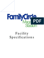 Facility Specifications