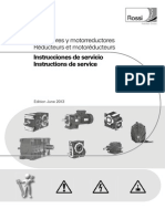 Manual Reductores y Motorreductores Edition June 2013 ES FR