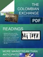 week 1 - the colombian exchange