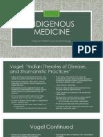 week 2 - indigenous medicine