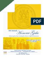 2014 Honoree Gala Souvenir Journal