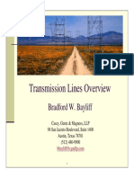 Texas Powerlines Transmission Lines Overview