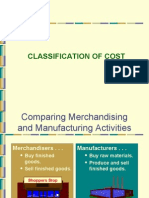 3901808 Classification of Cost